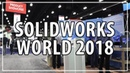 3D Printing CNC Milling at Solidworks World 2018 w/ Matterhackers, Raise3D, Desktop Metal, Tormach