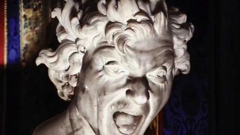 Gian Lorenzo Bernini 2 - descrizione prime opere dellartista.   Locchio che sente.