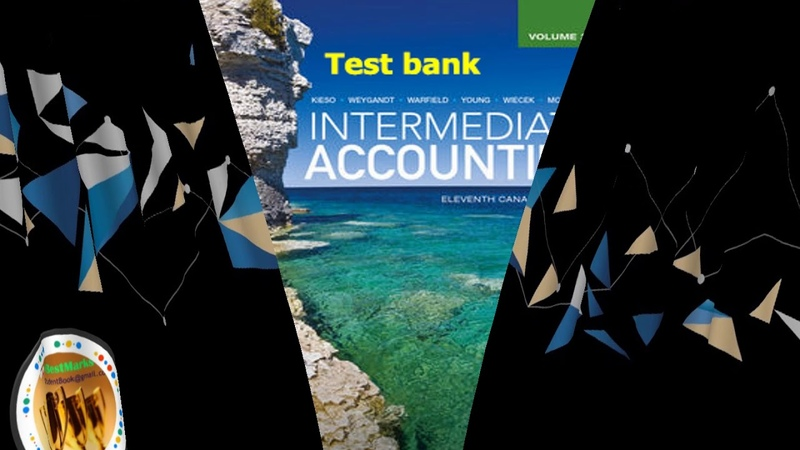Test Bank For Intermediate Accounting Volume 2 11th Canadian Edition
