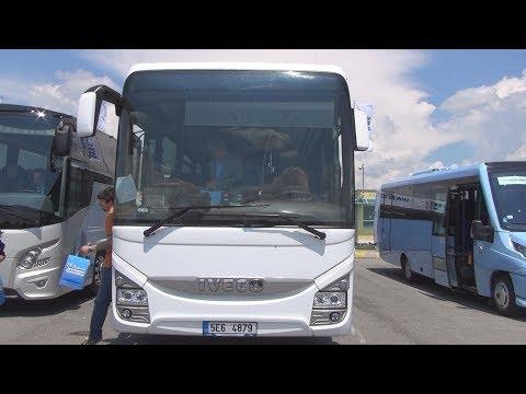 Iveco Crossway Pro Cursor 9 Euro 6 Bus (2016) Exterior and Interior