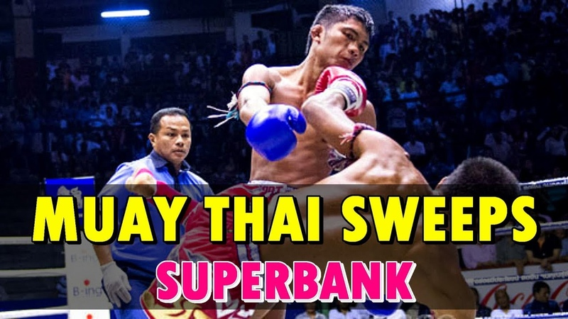 Superbank's Finest Sweeps Part 1 Muay Thai Mastery