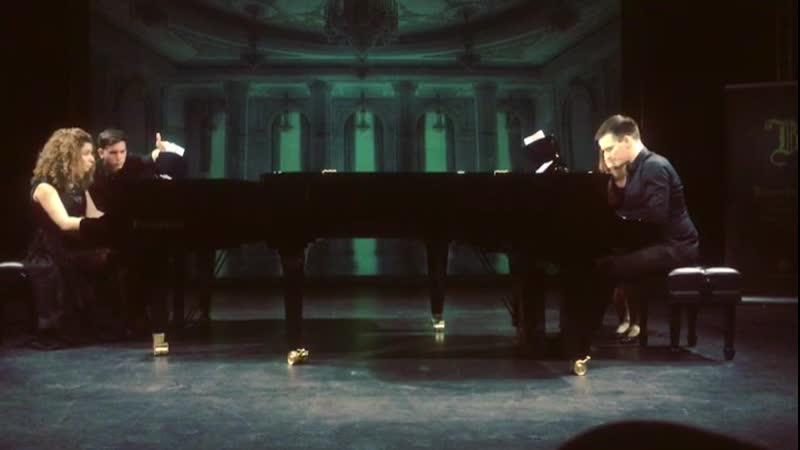 Сергей Прокофьев Сюита из Балета Золушка для двух фортепиано ор . 87