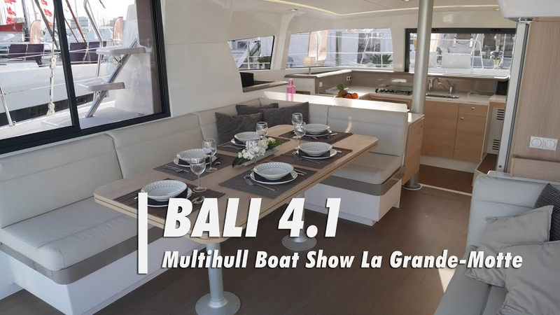 Catamaran Bali 4.1 Visite complète