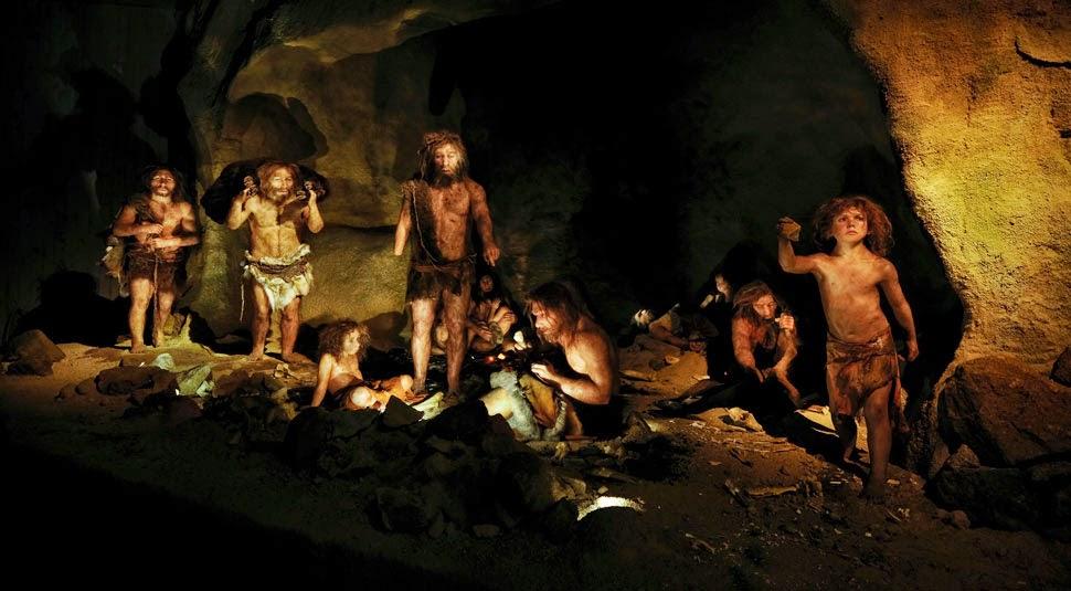 картинка неандерталец в пещере межкомнатные