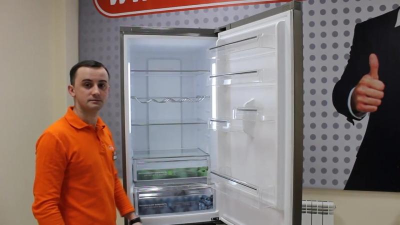 Видеообзор холодильник LERAN CBF 220 IX со специалистом от RBT.ru