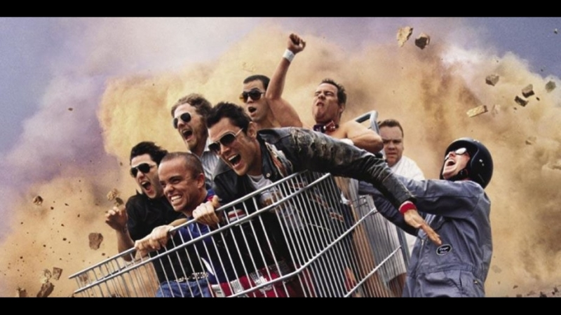 Чудаки Jackass The Movie 1 2 3 4