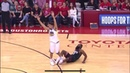 James Harden Hits 3 In Klay Thompson Face And Gets The Foul