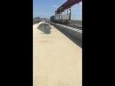 Паровозы по мосту с Тамани в Керчь катаются