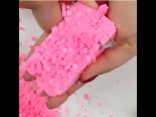 АСМР видео - режет мыло