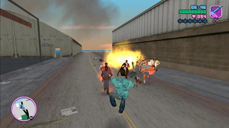 GTA Vice Dead Test spawn zombie