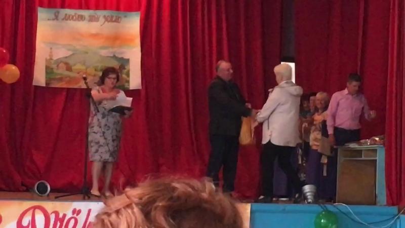 Награждение Шубняковой Натальи Васильевны за благоустроенный двор в селе Чекалино