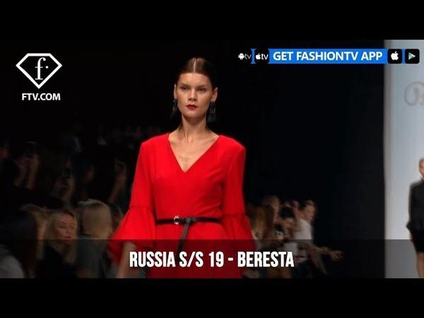 Beresta Mercedes Benz Fashion Week Russia S/S 2019 | FashionTV | FTV