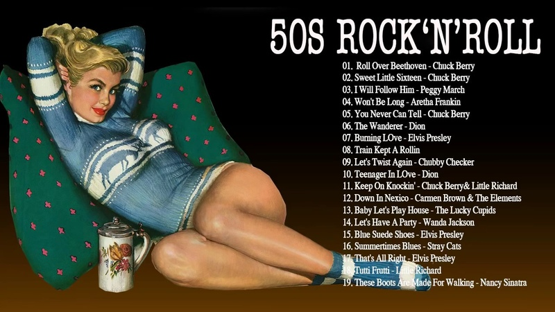 The Very Best Of 50S Rock n Roll Music Collection - Greatest 50s Classic Rock And Roll Songs Ever