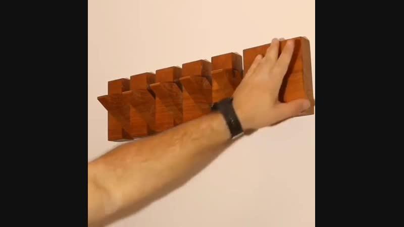 Вешалка - Строим дом своими руками