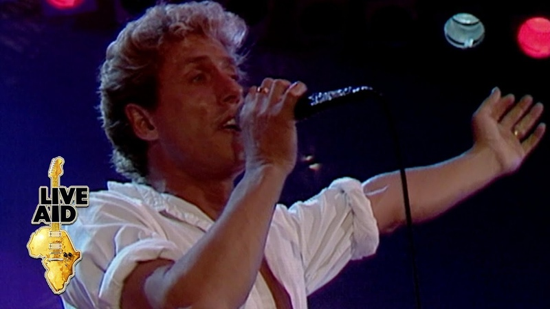 The Who - Love Reign O'er Me (Live Aid 1985)