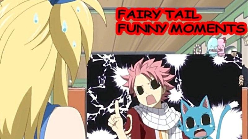 Fairy Tail [SUB-ITA] - FUNNY MOMENTS