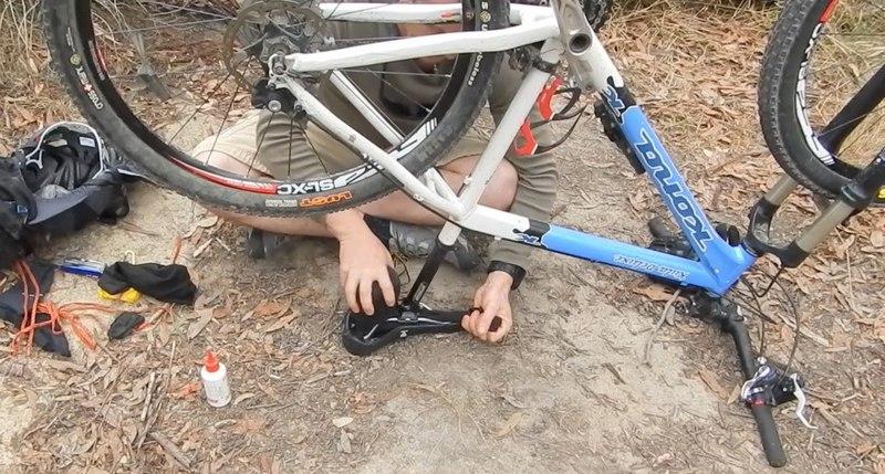 How to make a Bike Saddle Bag