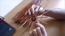 Warsztaty plecionkarskie - Dno okrągłe wyplatane wikliną
