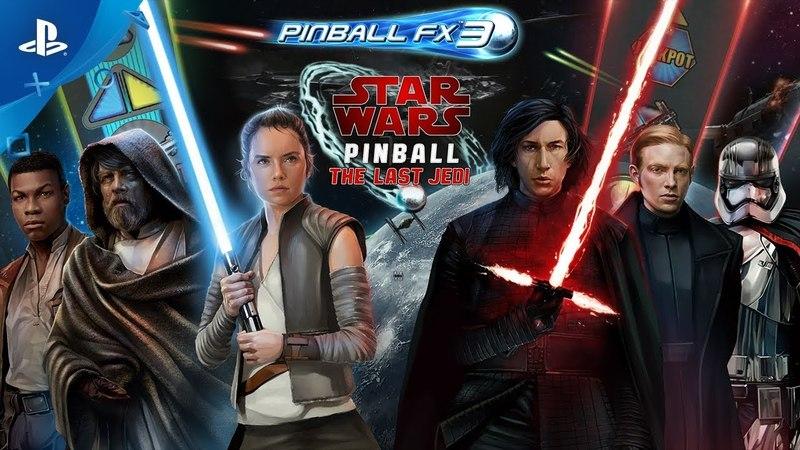 Pinball FX3 - Star Wars Pinball The Last Jedi Launch Trailer | PS4
