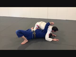 Ben Egli - Wrestling escape from side control BJJ