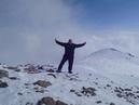 Mount sadzele 3307 m highest peak gudauri caucasus mountains