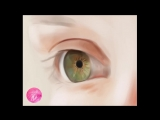 Painting a realistic eye in Photoshop — Timelapse video
