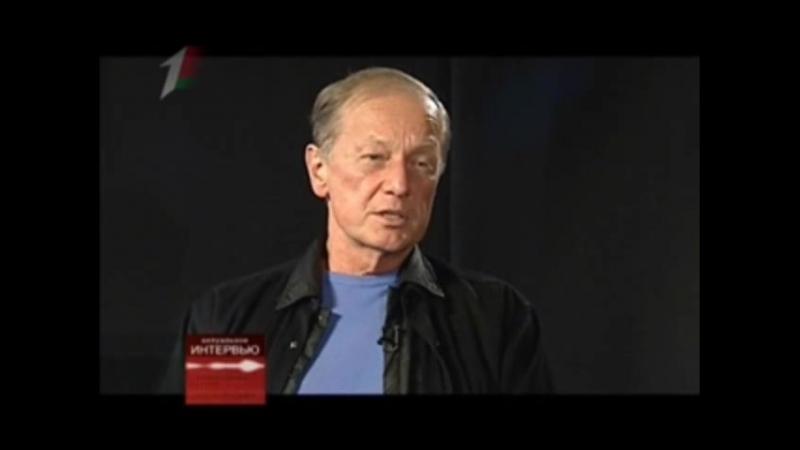 Актуальное интервью (Первый национальный, 01.04.2011) Михаил Задорнов