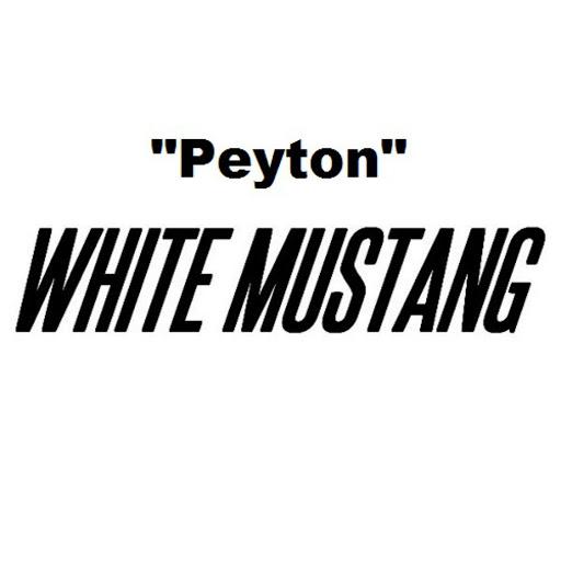 Peyton альбом White Mustang