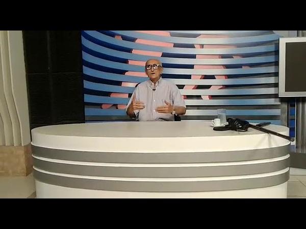 Carlos Said de volta à TV Cidade Verde, já recuperado de sua saúde