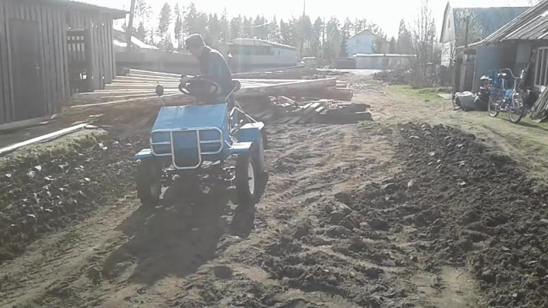 Самодельный тракторенок