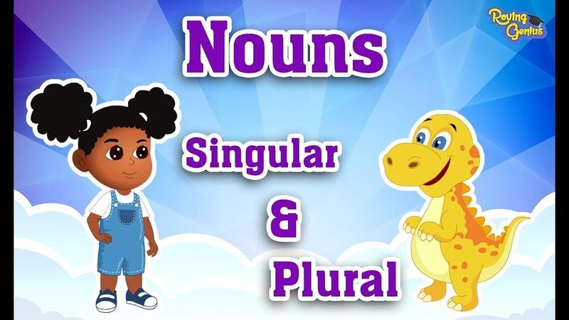 Singular Plural Nouns by Adding ES | English Grammar For Kids with Elvis | Grade 1