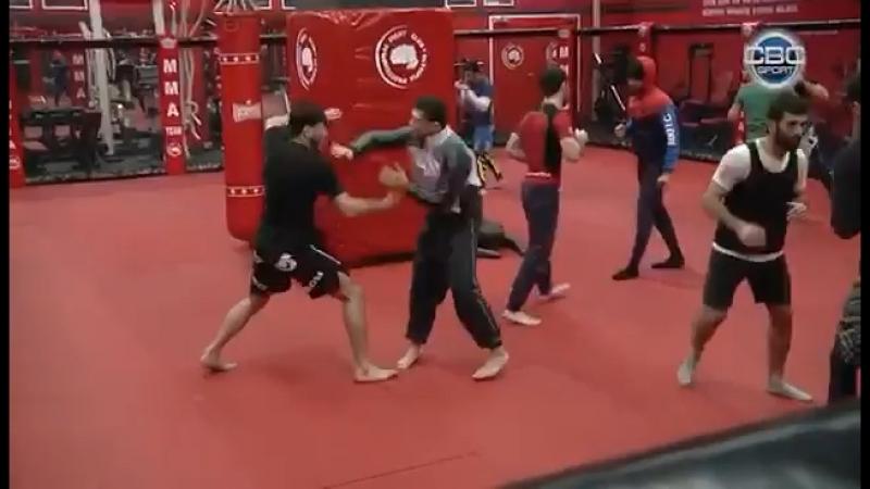 Подготовка азербайджанских бойцов к турниру WFCA 48