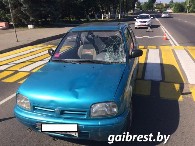 В Барановичах в ДТП пострадал пешеход