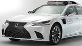 2020 Toyota Autonomous Driving Car  Toyota Self Driving Car 2020 (Lexus LS 500h CES 2019)