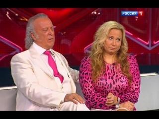 Илья Резник и Михаил Филимонов в передаче канала Россия-1 Прямой эфир (2013)
