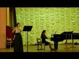 О Тактакишвили Соната для флейты и ф-но 2,3 части исп. Кириленко А.(флейта) , Евдокимова И.А.(ф-но)