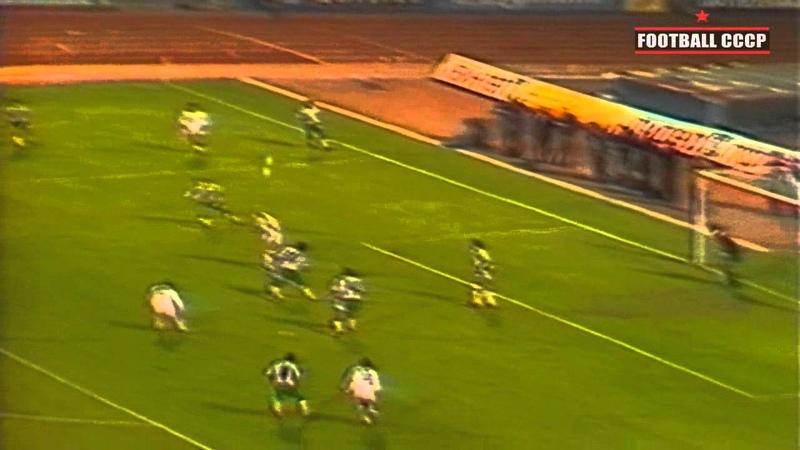 1/8 КЕЧ 1986/1987 Динамо Киев-Берое 2-0