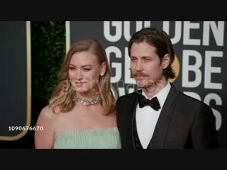 Yvonne Strahovski and Tim Loden at the 76th Annual Golden Globe Awards