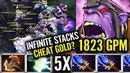 NETWORTH TO THE MOON - Waga With 5 Aghanim Buff - Full Slot item dota 2