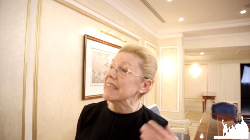 Интервью с Еленой Мизулиной по изменению Конституции РФ ИА Национальный Курс