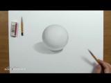 Азбука Рисования Как нарисовать объем! Основы светотени в рисунке карандашом.