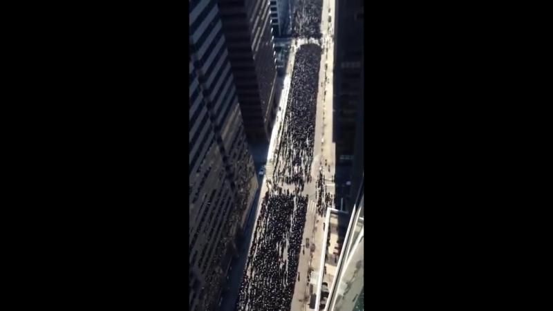 Евреи на Манхеттене 11 марта 2014.