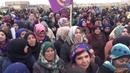 17.12.18 - антитурецкая демонстрация афринских курдов в селе Бабиннис. Вторая с октября 2016-го съёмка курдской стороны с территории посёлка и первая столь подробная (предыдущая в марте 2018).
