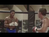 Kevin Lee coaches his brother Keith Lee in a sparring session with Joseph Benavidez