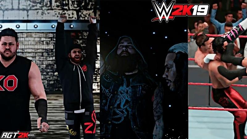 AGT - WWE 2K19 Patch 1.03|NEW ENTRANCESVICTORY MOTIONS TAG FINISHERS(Dolph Drew, Hardy Wyatt)