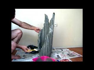 Kumaşla Beton Saksı Yapımı İlginç Bir Çalışma_HD.mp4