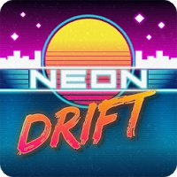 Install  Neon Drift: Retro Arcade Combat Race [Мод: много денег]