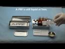 Специальная тефлоновая палетка-пресс для получения СУПЕР мембран liquid-APRF. Данное видео наглядно показывает.