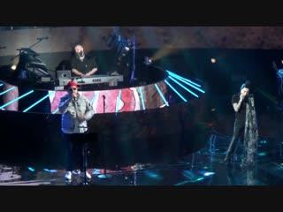 Фрагмент выступления Наргиз Закировой на концерте М.Фадеева, 15.11.2018
