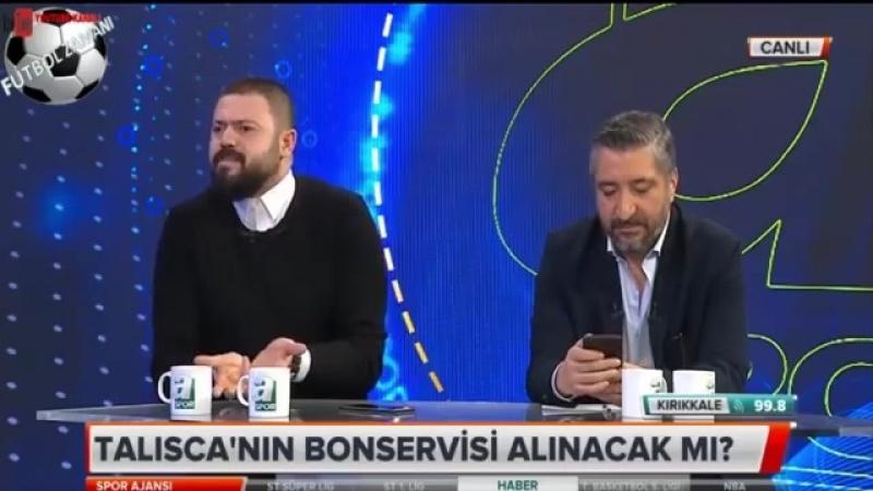 Beşiktaş Spor Ajansı ⚽ Taliscanın Bonservisi ve Fikret Orman Röportajı 27 Mart 2018